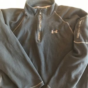 Under armour fleece 3/4zip XL pullover